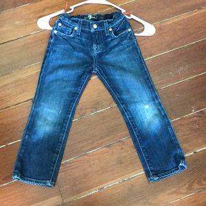 7 for All Mankind Roxanne Crops Girls 5 Jeans